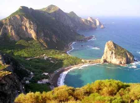 veduta parco nazionale Circeo